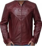 Jaket Kulit Superman