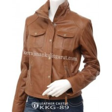 Jaket Kulit Wanita Modern